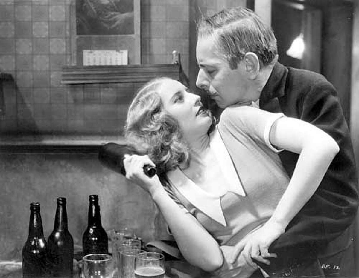 Complicated Women: Barbara Stanwyck and Douglas Dumbrille in Baby Face (1933) HANDOUT IMAGE