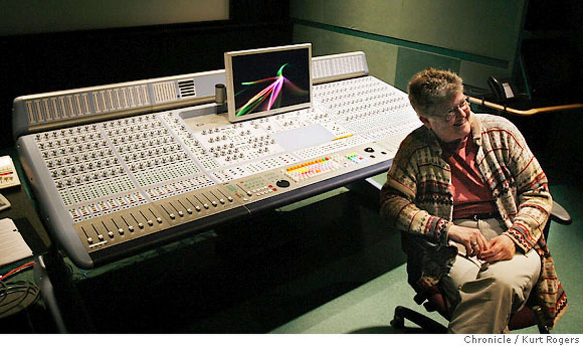 Leslie Ann Jones is the Grammy-Winning director of music and scoring at Lucasfilms's Skywalker Sound in Marin. TUESDAY, JANUARY 30, 2007 KURT ROGERS/THE CHRONICLE LUCAS VALLEY THE CHRONICLE SFC JONES09_0004_kr.jpg