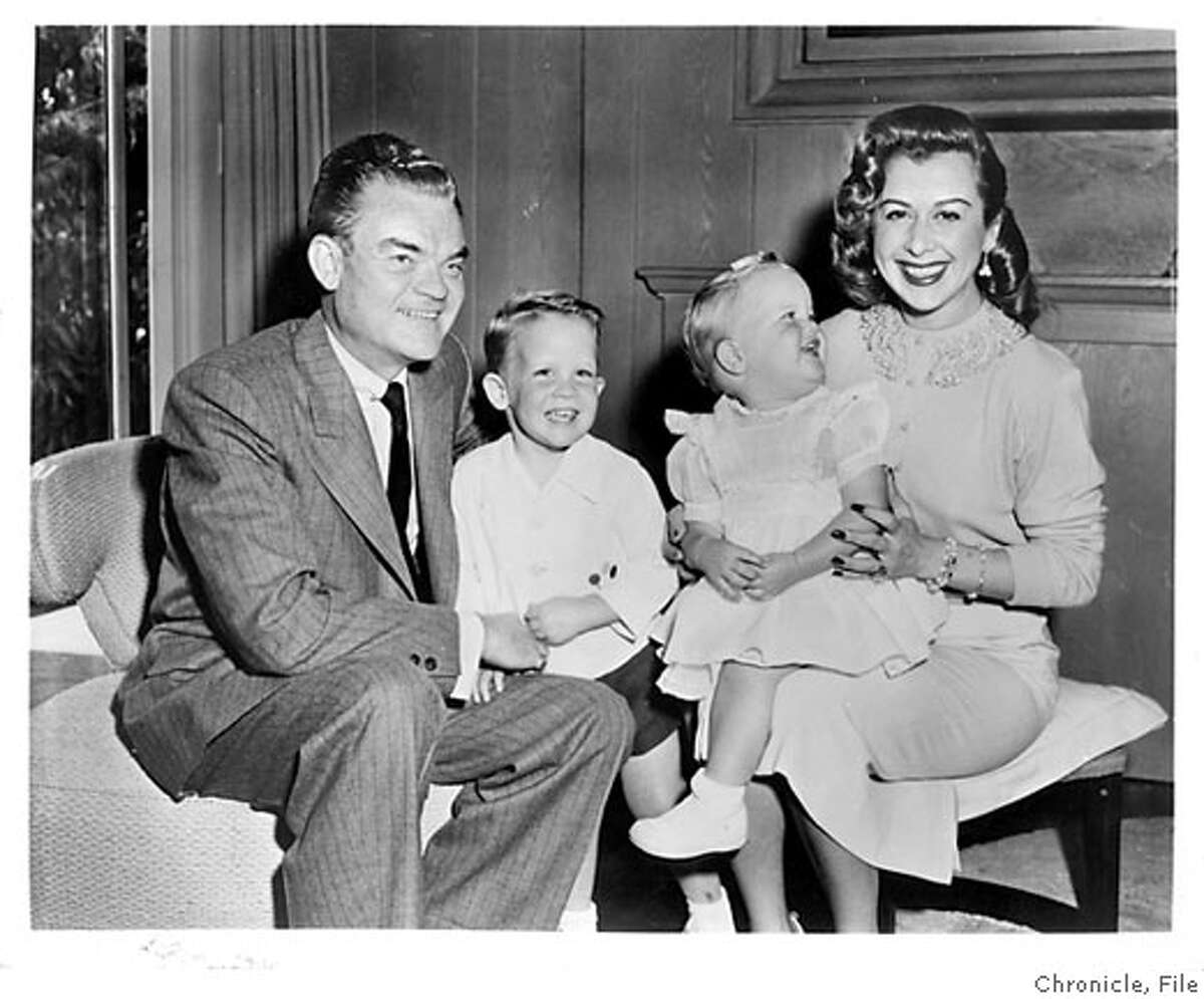 left to right: Spike Jones, Spike Jr. (known as