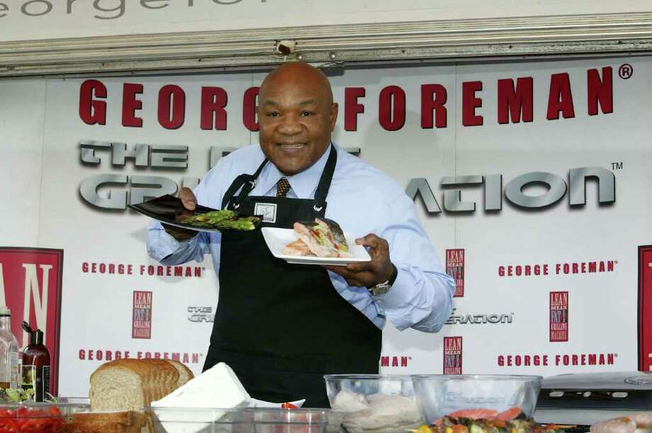 George Foreman CookingAfter leaving behind a successful boxing career, George Foreman gained new-found fame as the boisterous hawker of low-fat cooking grills.Foreman discussed his own religious reawakening in an interview with Success Magazine, and said that his personal integrity guides his business decisions.For example, he won't invest in products or sellers that promote alcohol consumption. Read more on Business Insider Photo: Jeremy O'Donnell, Getty Images / 2006 Getty Images