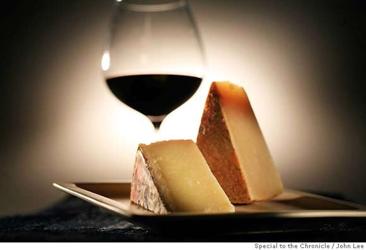 CHEESE09_02JOHNLEE.JPG Pecorino Lucano cheese. By JOHN LEE/SPECIAL TO THE CHRONICLE