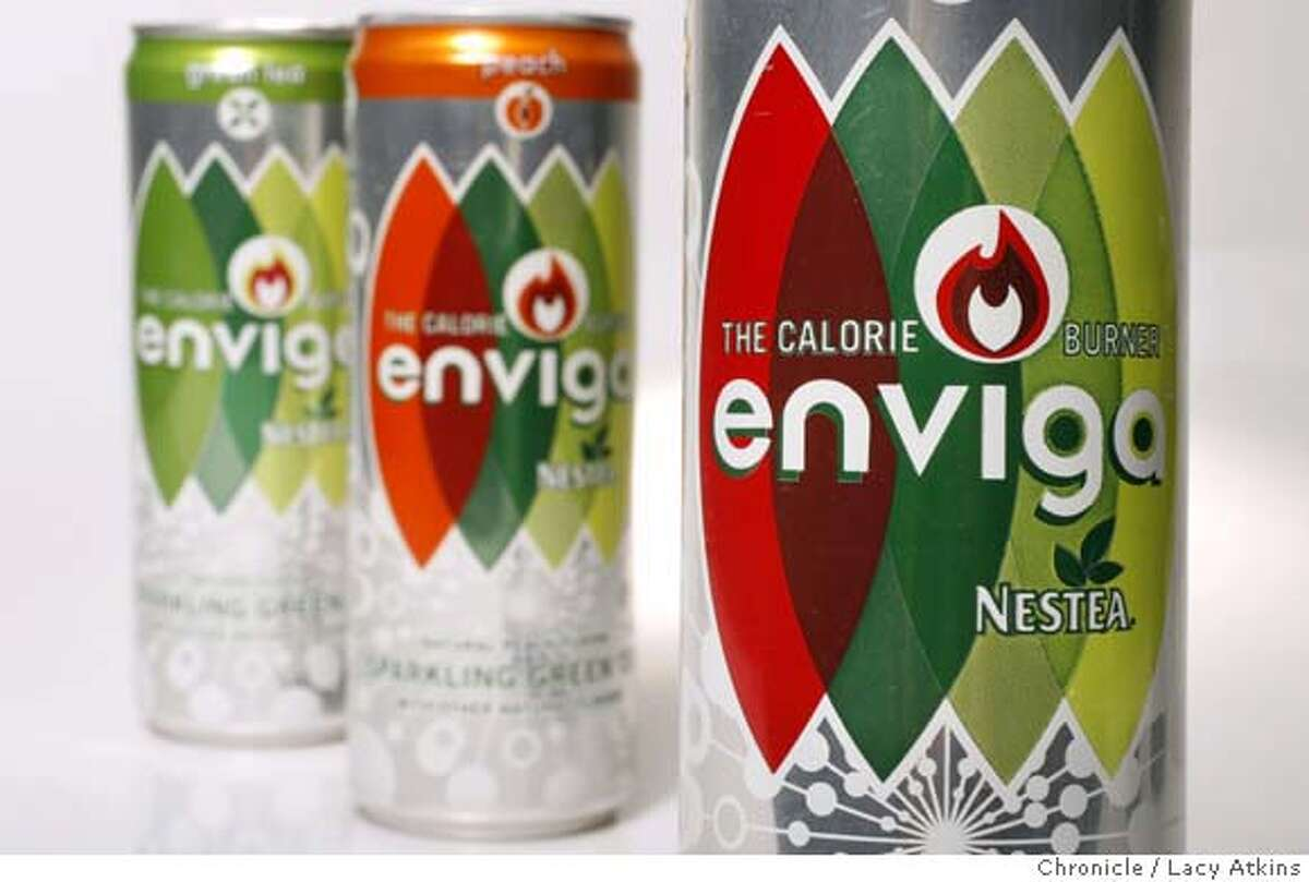 , a new product by Coke that burns calories. Three cans a day is suppose to burn 60-100 calories. (Lacy Atkins San Francisco Chronicle)