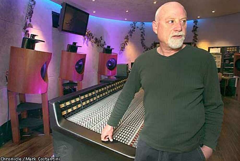 The Plant Studios in Sausalito is the last successful independent commercial recording still standing. Owner Arne Frager(pictured) has managed to balance an historic reputation (Sly Stone, Huey Lewis, Journey, Fleetwood Mac, Stevie Wonder have all recorded here in the Plant's 30-year history) with a variety of services to keep business. 4/30/03 in Sausalito. MARK COSTANTINI / The Chronicle Photo: MARK COSTANTINI