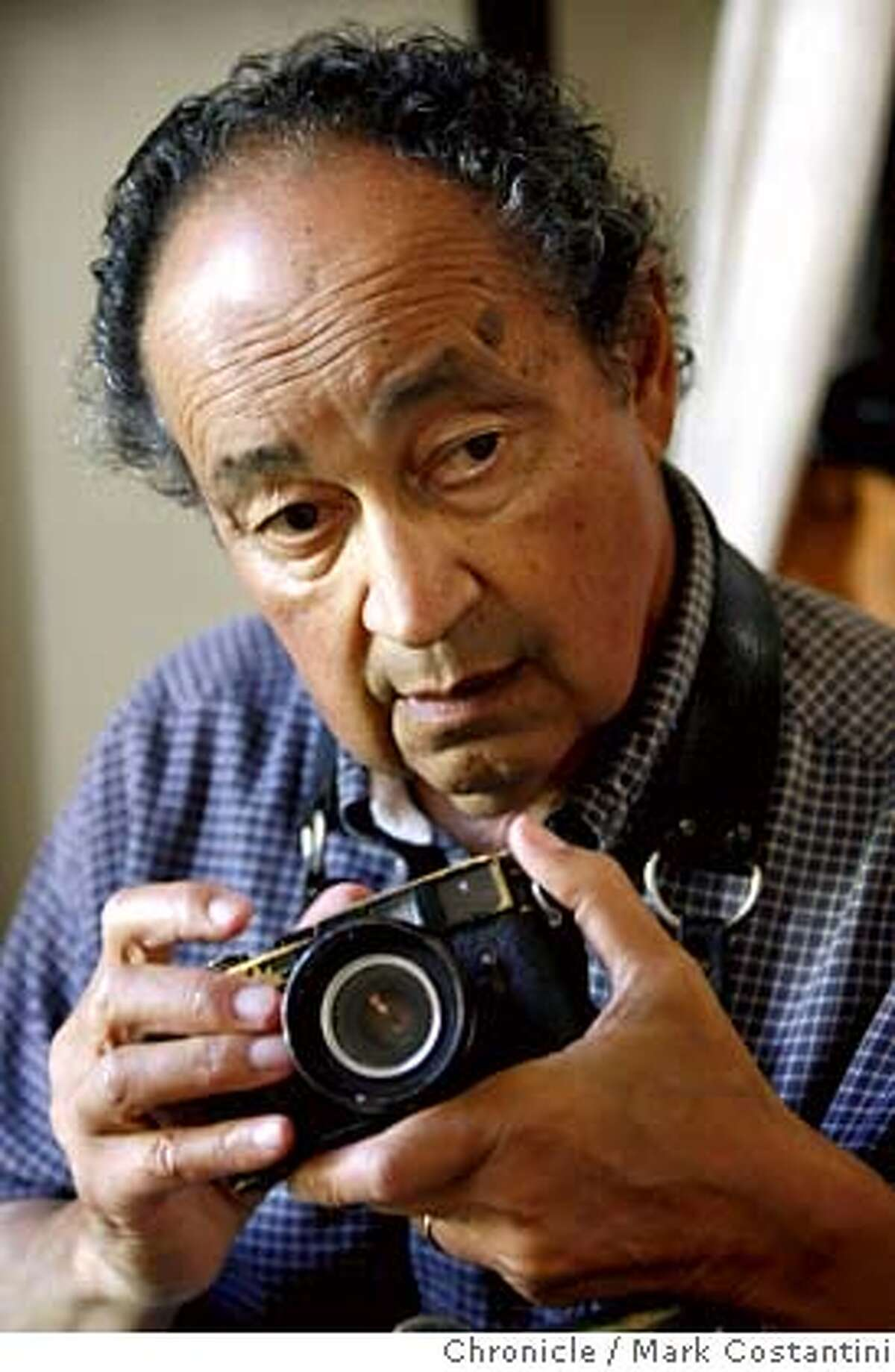 2006 Portrait of Fran Ortiz, former San Francisco Examiner photographer. Ortiz died Wednesday, Feb. 7 while recovering from surgery. Photo by Mark Costantini