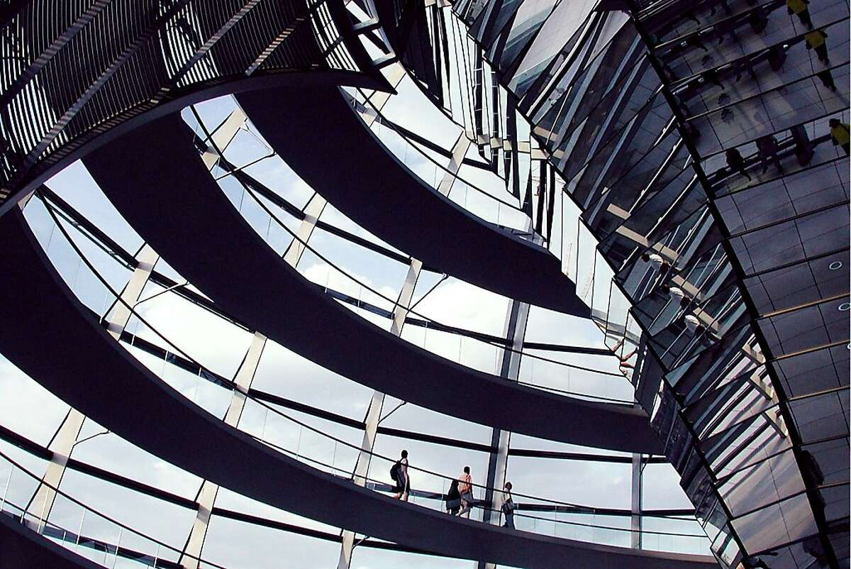 The glass dome of Berlin's parliament building, the Reichstag, is the perfect metaphor for transparency in government.