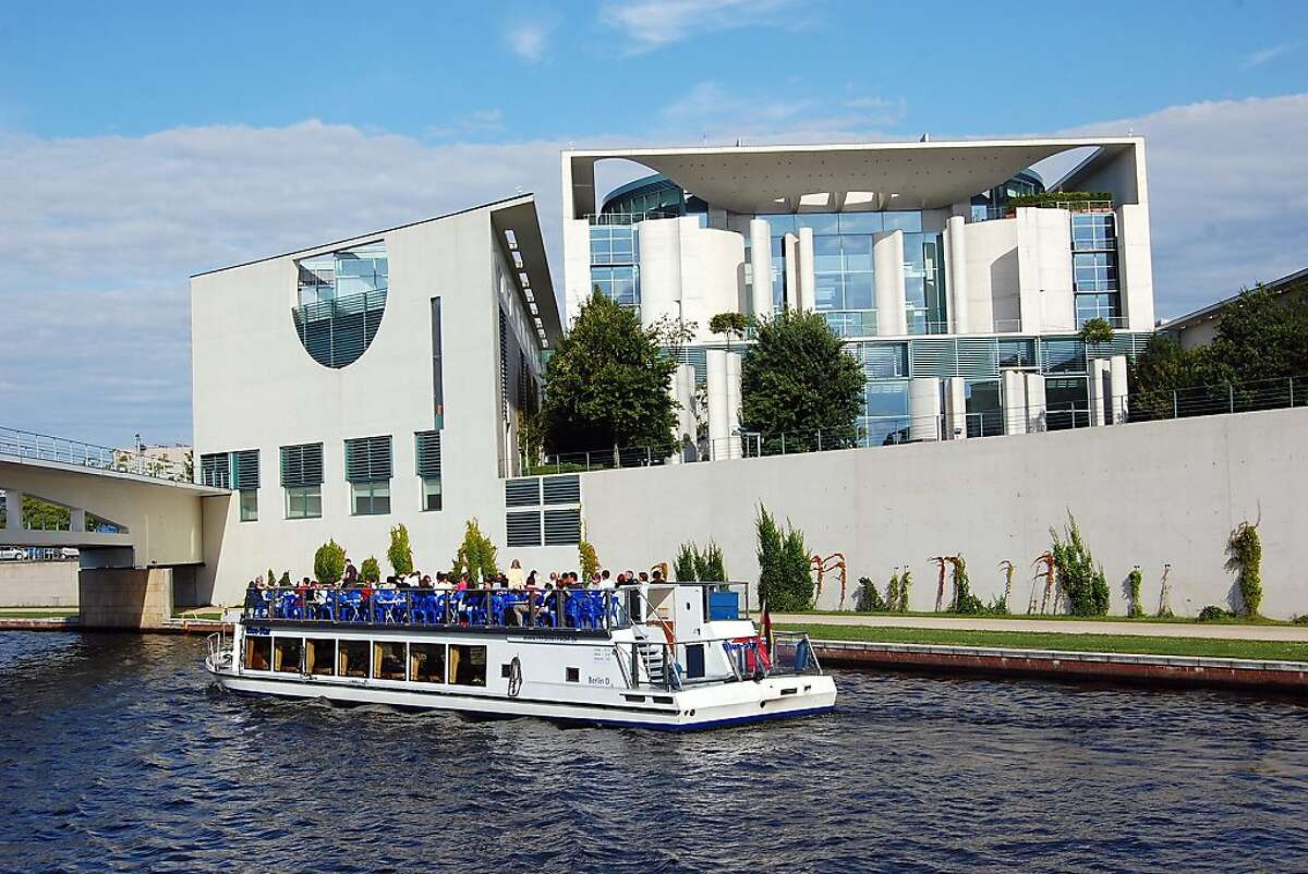A leisurely boat tour on the Spee River is one of the best ways to view the cutting-edge architecture like the Chancellery rising throughout Berlin.