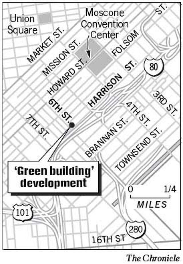 Green Building Devlopment. Chronicle Graphic