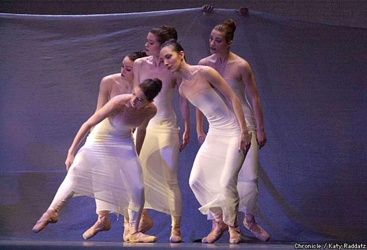 PHOTO BY KATY RADDATZ--THE CHRONICLE San Francisco Ballet. SHOWN: Company dances imaginal disc (cq).