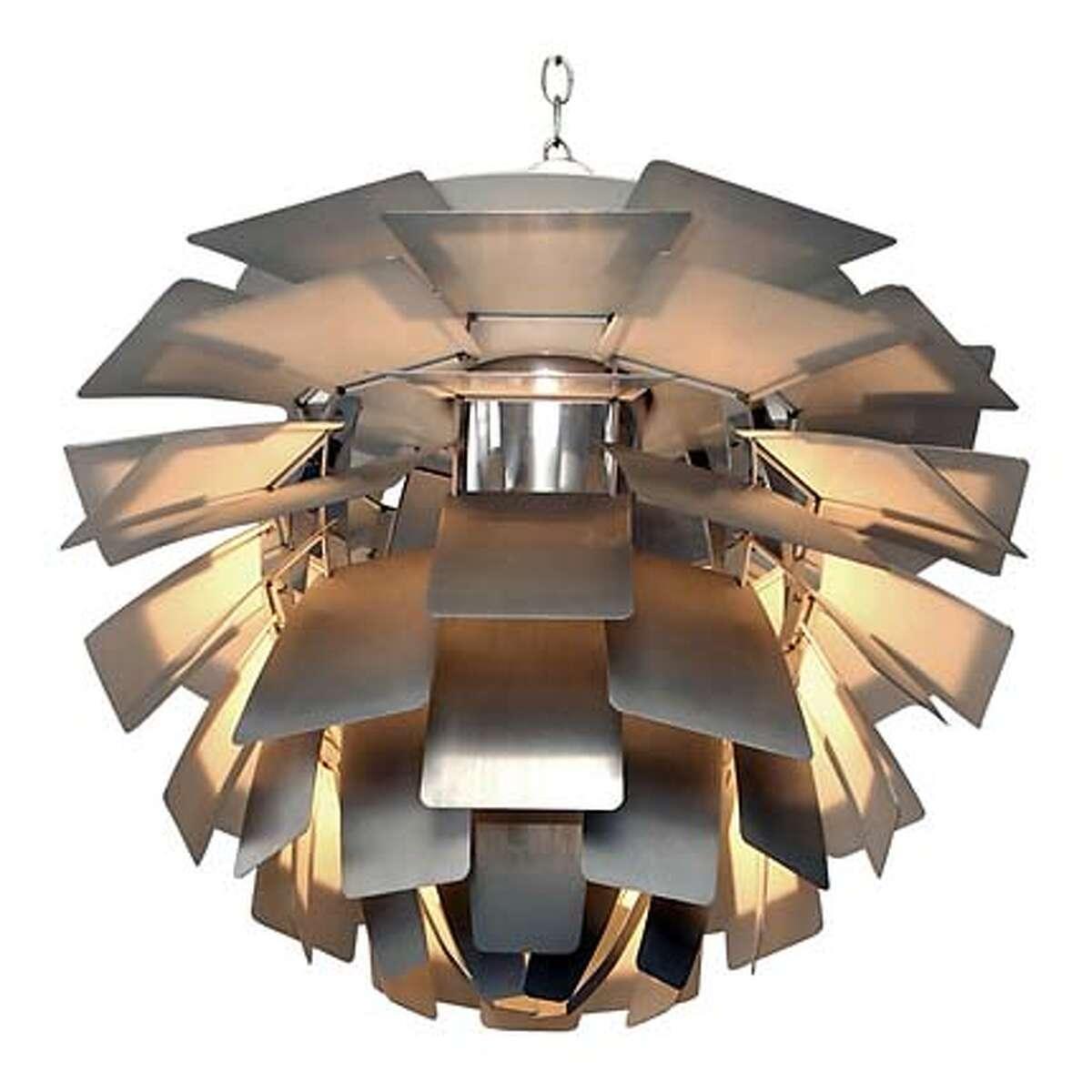 1960s Poul Henningsen artichoke chandelier, $5,800