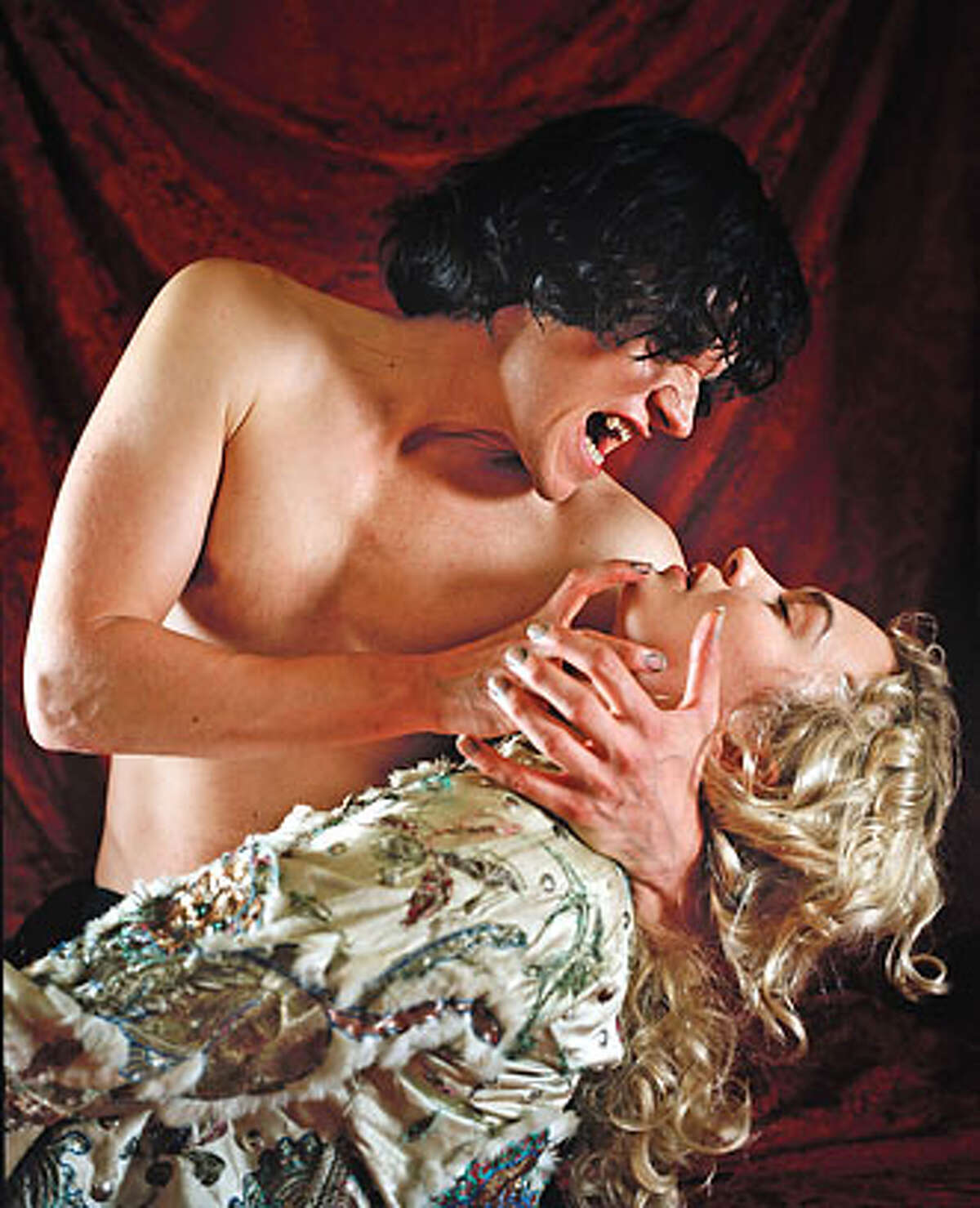 Transylvania's most famous undead resident bares his fangs in a chilling new adaptation of Bram Stoker's horror classic. Marc Warren (Band of Brothers) stars as Dracula, with Sophia Myles (Miss Marple) as Lucy Ran on: 02-07-2007 Dracula (Marc Warren) and Lucy (Sophia Myles) in Masterpiece Theatres Dracula.