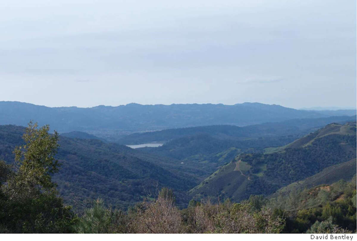 Sage Creed Raanch, 933 acres in Napa County neart St. Helene is on the market for $25 million. The lake is Lake Hennessy but it it not part of the ranch property. Property also has views of Lake Berryessa.
