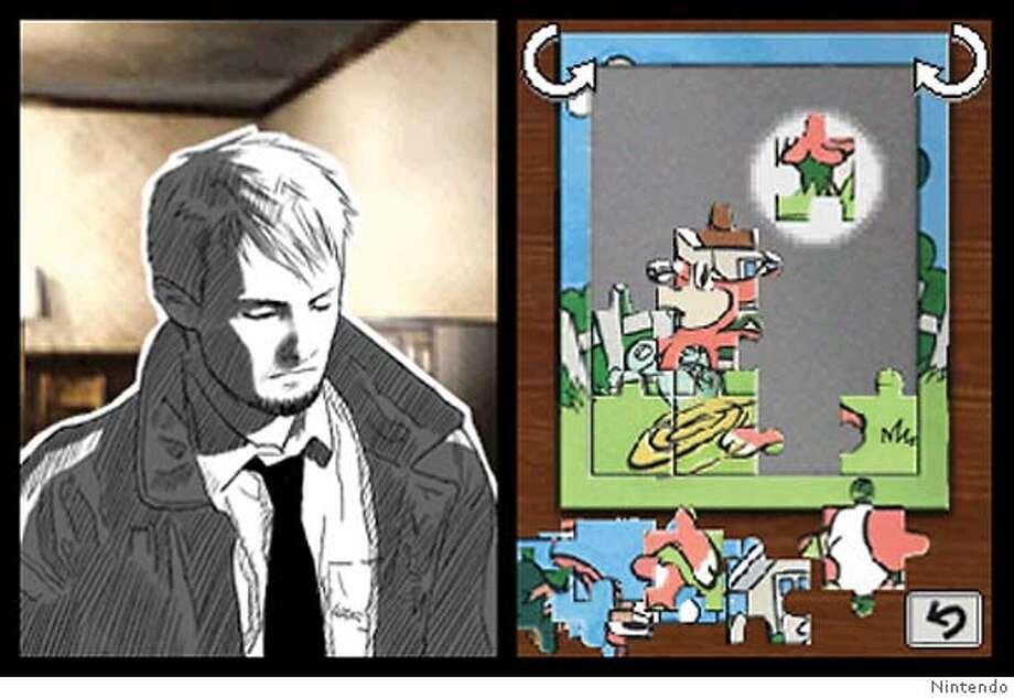 "Screenshot from ""Hotel Dusk: Room 215""  Courtesy of Nintendo Photo: Courtesy Of Nintendo"