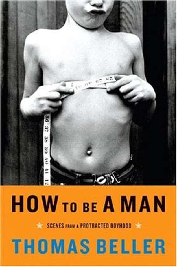 "Book cover art for, ""How to Be a Man: Scenes from a Protracted Boyhood."" BookReview#BookReview#Chronicle#07-31-2005#ALL#2star#e2#0423117444"