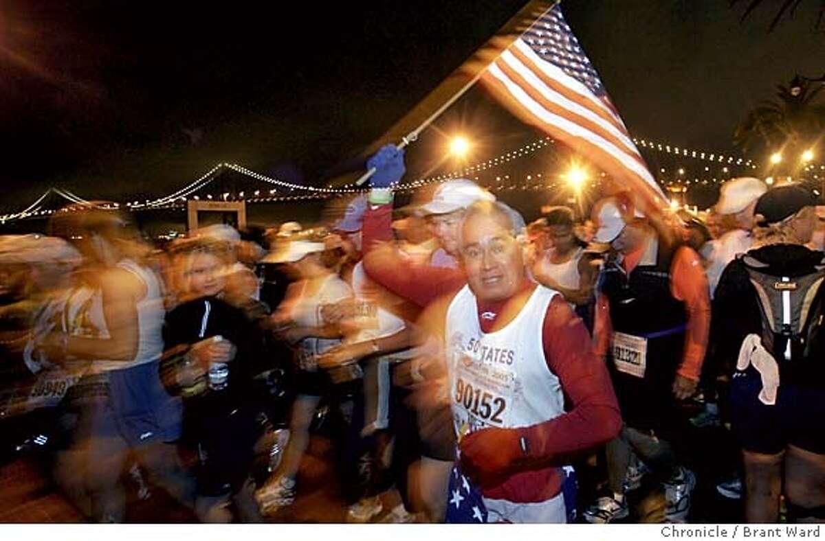 sfmarathon261_ward.jpg At 5 am Sunday morning, the