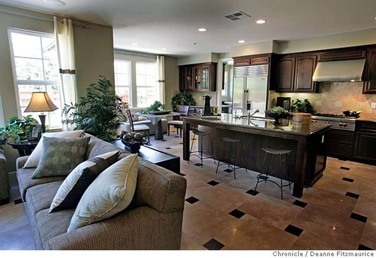 _G1X7419.JPG Montecito is a Shea Homes model home in Novato. San Francisco Chronicle/ Deanne Fitzmaurice
