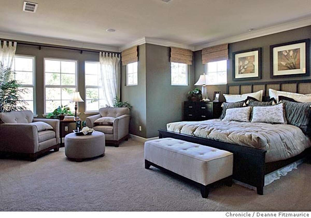 _G1X7442.JPG Montecito is a Shea Homes model home in Novato. San Francisco Chronicle/ Deanne Fitzmaurice