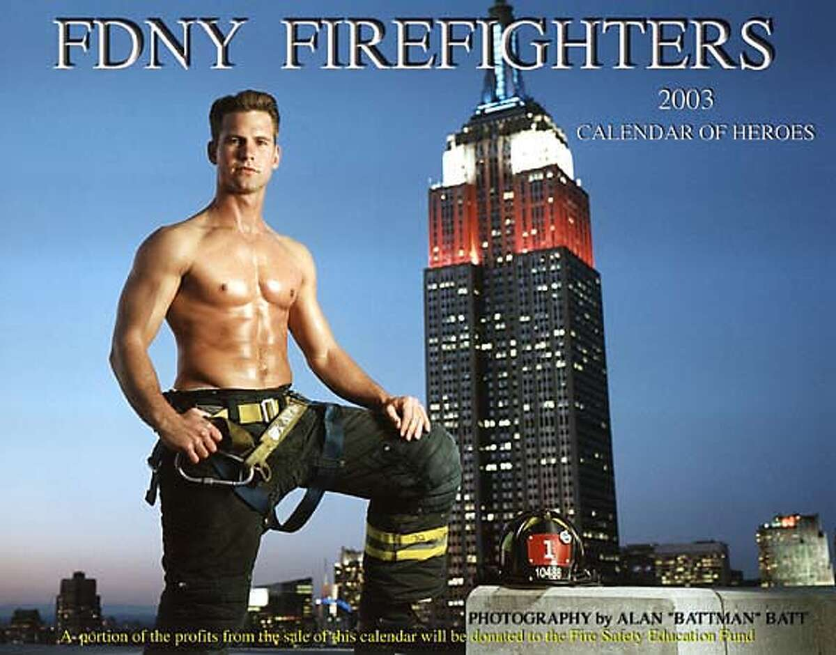 New York City firefighter Danny Keane is featured on the cover, in an undated photo by Alan