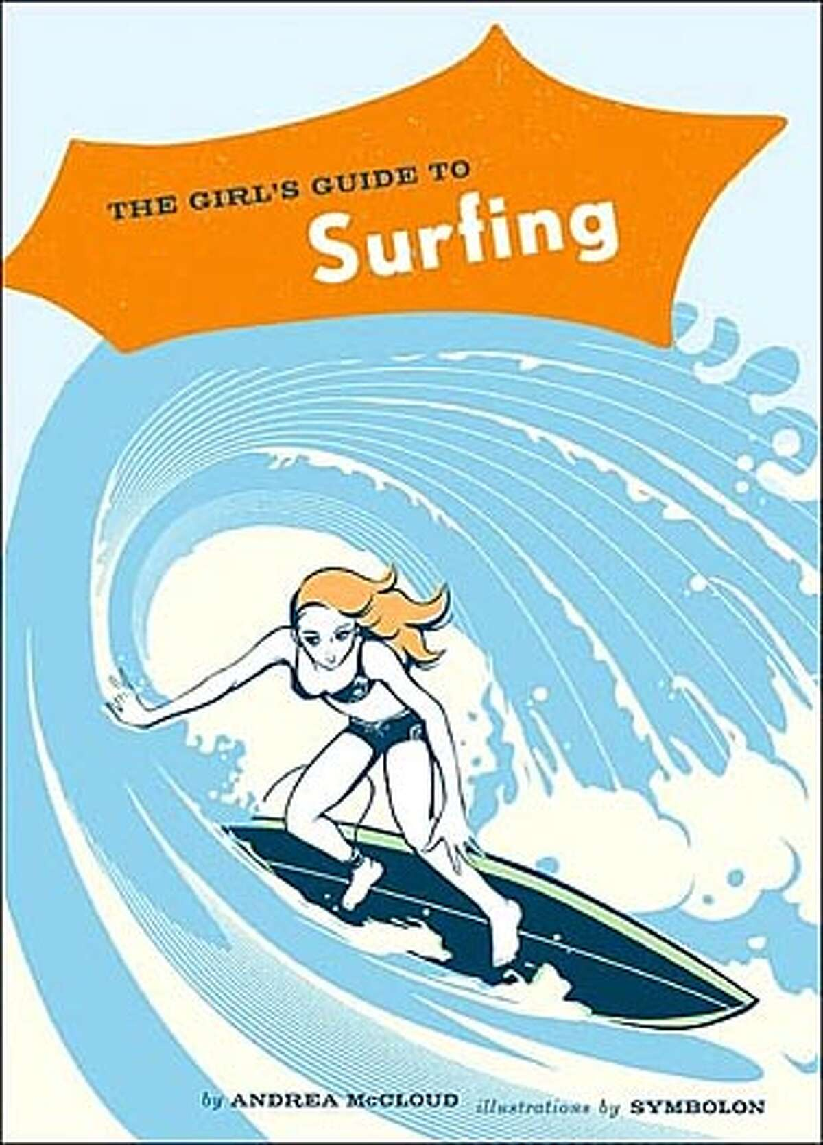 Book cover art for, The Girl's Guide to Surfing,