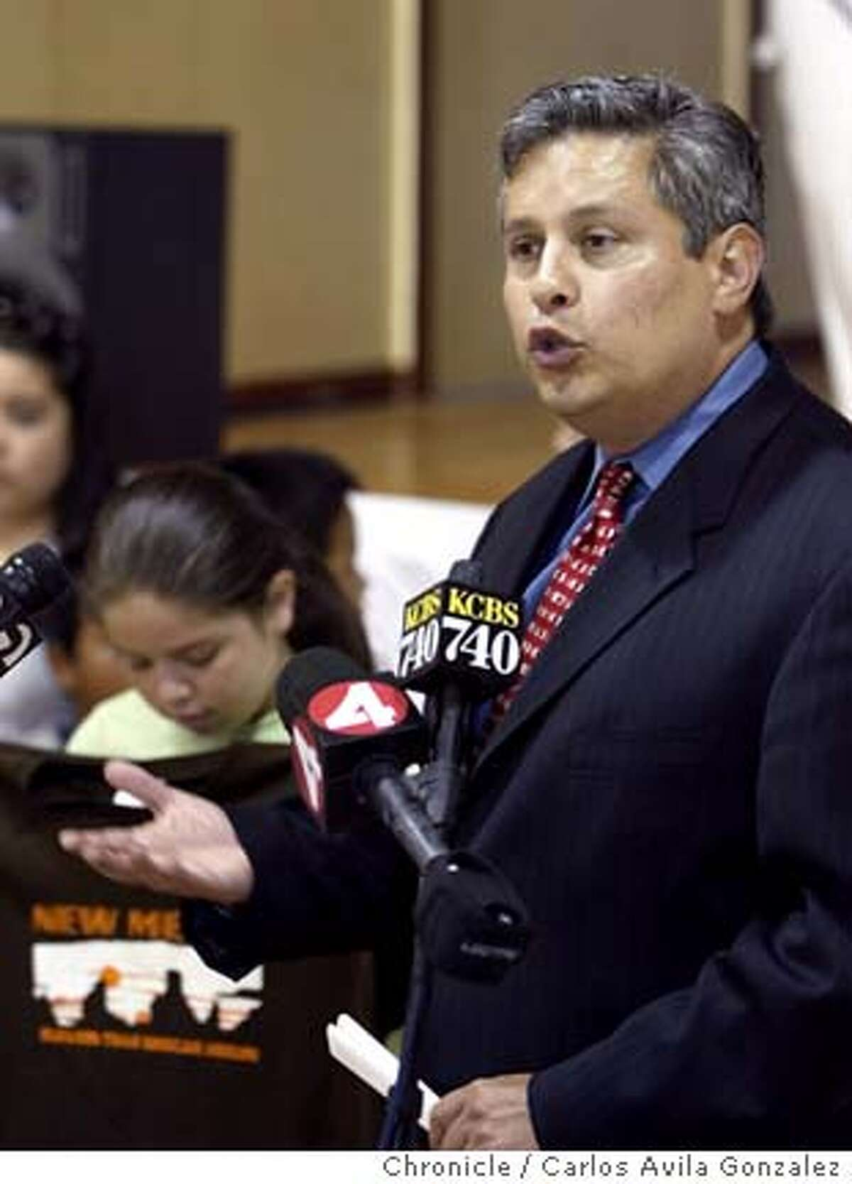 Supervisor Gerardo Sandoval holds press conference to denounce t-shirts produced by retailer Urban Outfitters that read