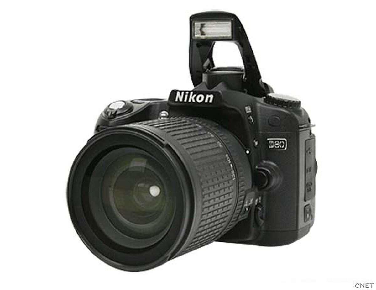 �Ultimate road-trip gadgets - Nikon D80. Credit: CNET