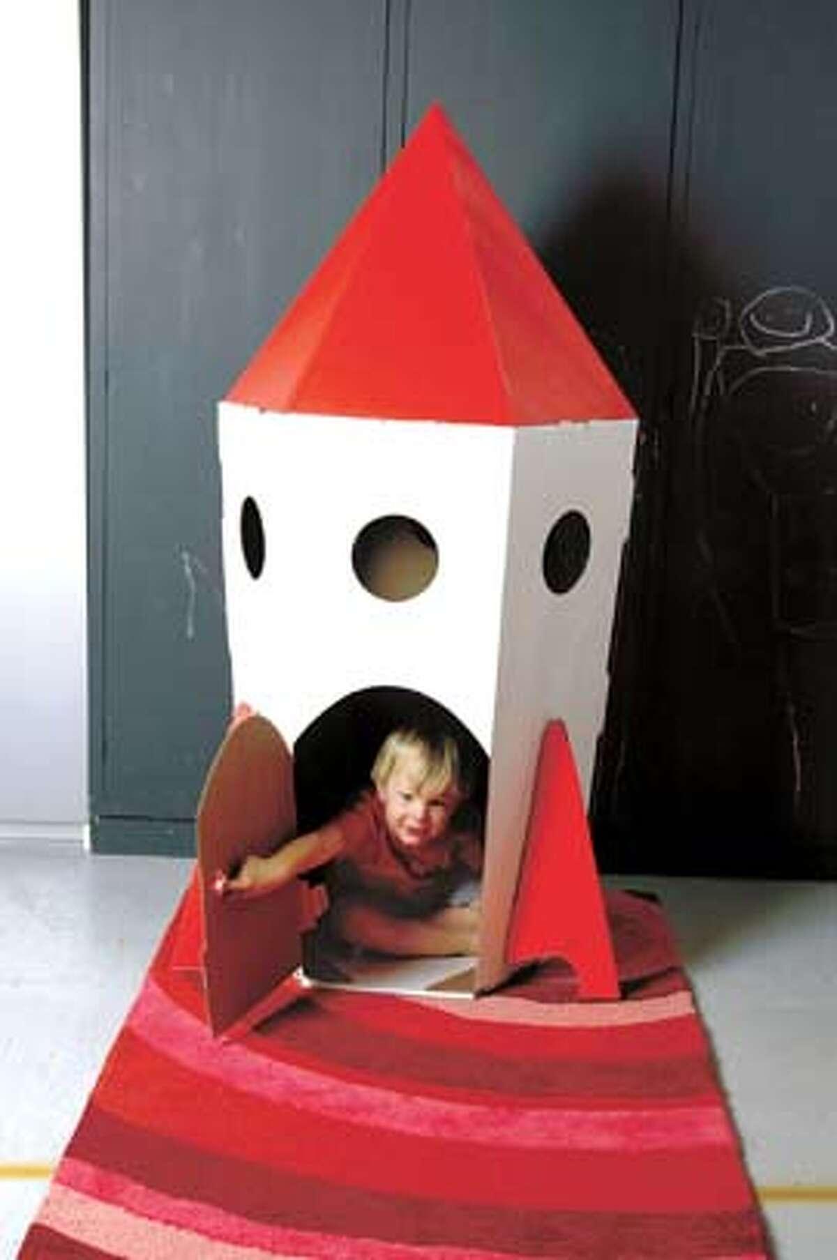 DESIGN_03.JPG Rocket playhouse, courtesy Modernmini. Photo by HANDOUT / Handout