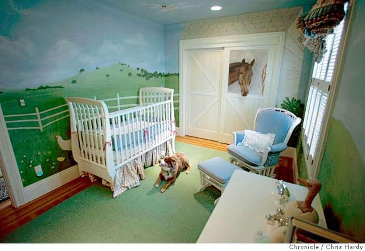 Sharmin and Brian Bock's kids' room at 182 Jordan St. in San Francisco 6/8/05 Chris Hardy / San Francisco Chronicle