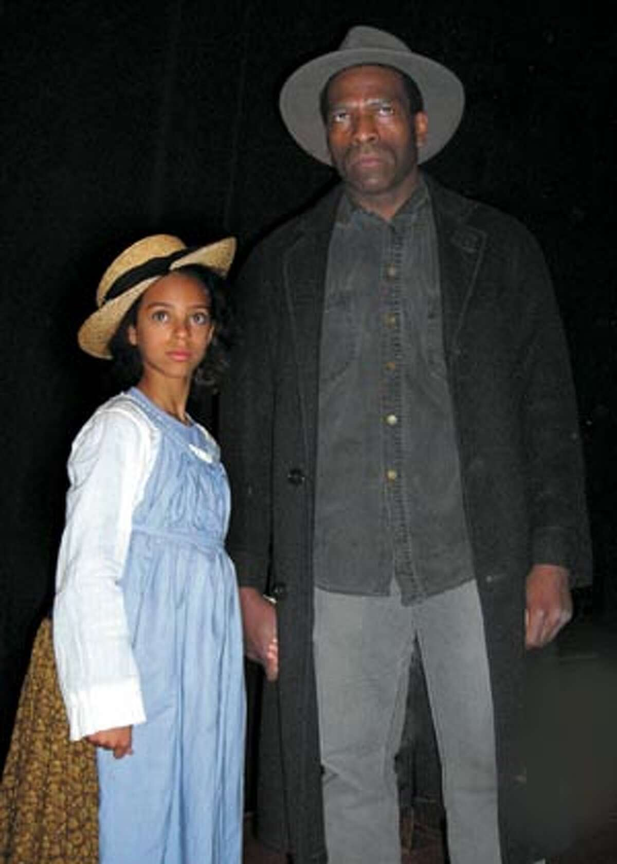 Audrey Borst plays Zonia and Bernard K. Addison plays her father, Herald Loomis, in the Lorraine Hansberry Theatre production of August Wilson's