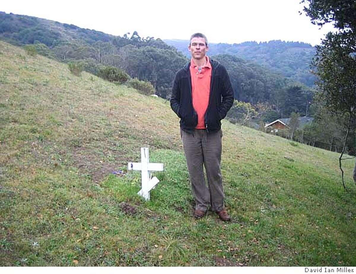 #1 - Tyler Cassity at Fernwood cemetery in Mill Valley.
