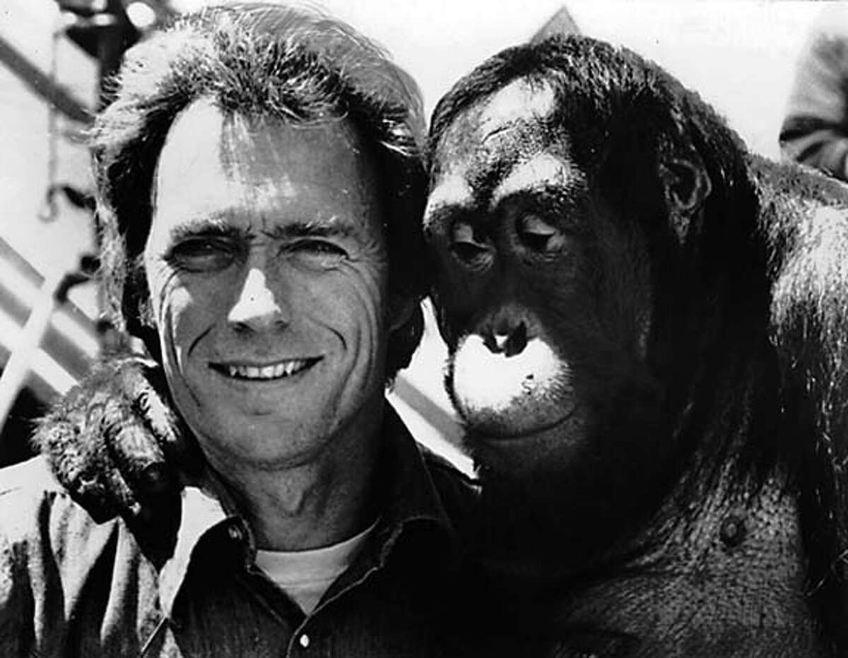 Clint Eastwood and Clyde in