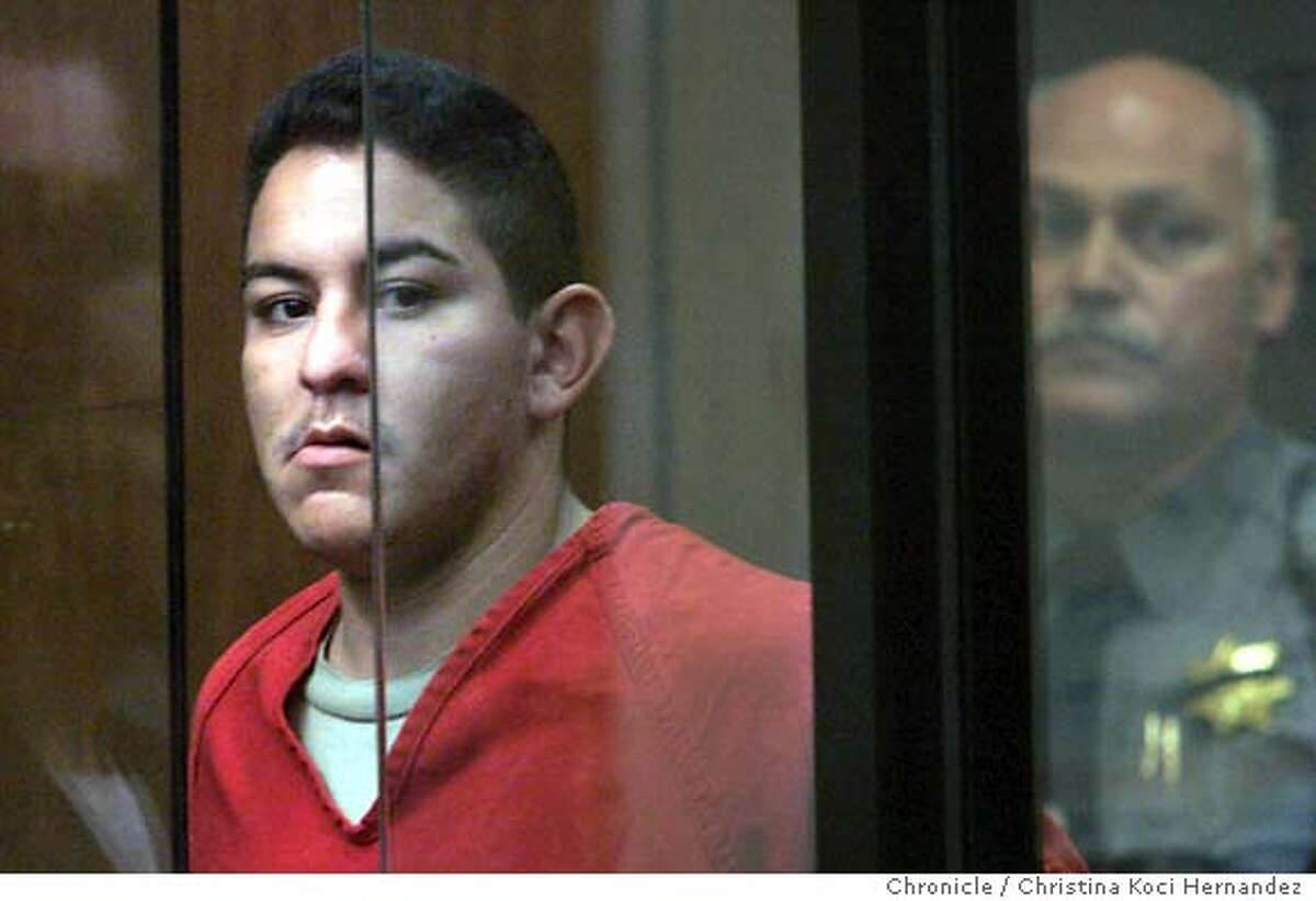 CHRISTINA KOCI HERNANDEZ/CHRONICLE Irving Ramirez, 23, is scheduled to be arraigned in the slaying of San Leandro police officer Nels