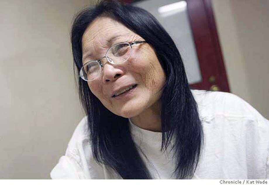 MO_112_KW_.jpg  On February 2, 2007 Jennie Mo, 57, of El Cerrito, a second grade teacher at Sheldon Elementary School in Richmond gives an exclusive interview to Chronicle reporter Henry Lee (NOT PICTURED) from the Martinez Detention Facility after being arrested January 31st on 18 counts of false imprisonment, 1 count of battery and 1 count of trespassing. Kat Wade/The Chronicle Mandatory Credit for San Francisco Chronicle and photographer, Kat Wade, Mags out Photo: Kat Wade