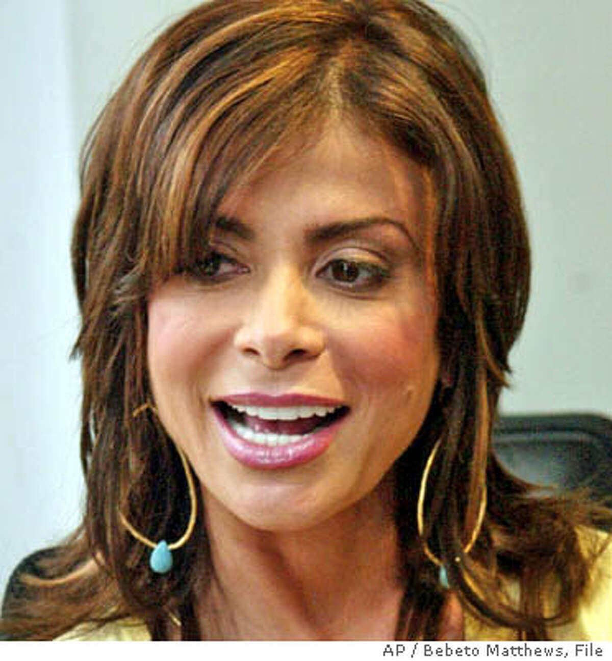 **FILE**American Idol judge Paula Abdul is shown in New York in this Jan. 13, 2005 photo. Fox Television announced Thursday, July 28, 2005, in Beverly Hills, Calif.,that the producers of