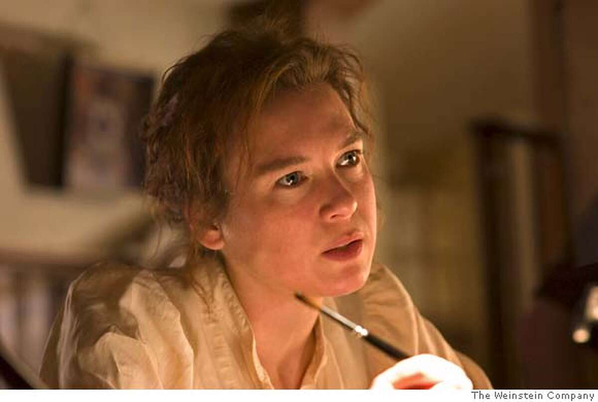 In this photo provided by The Weinstein Company, - Renee Zellweger stars as Beatrix Potter, a sheltered but talented young woman who falls in love with her publisher in