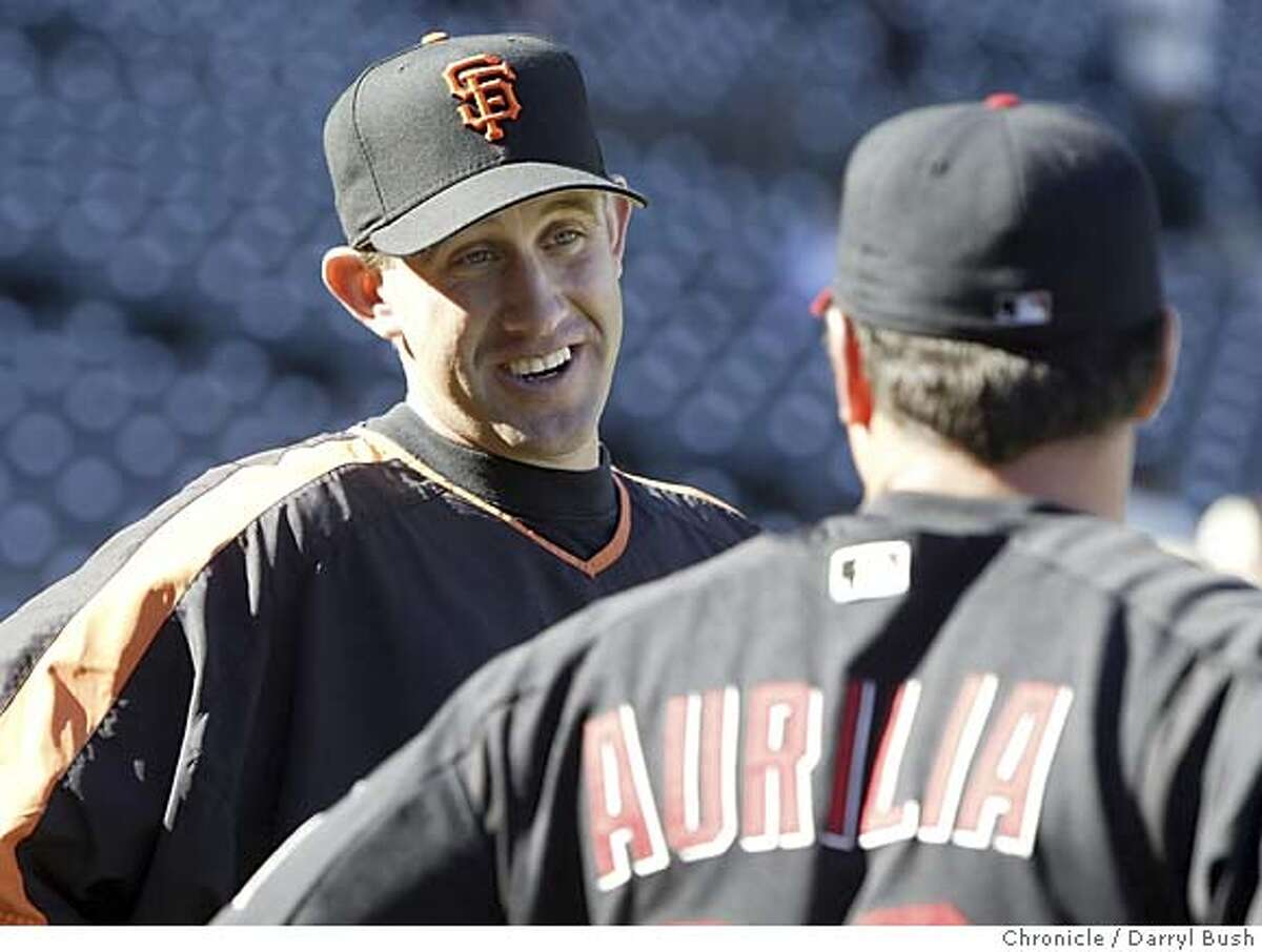 Kirk Rueter says he wants to stay with the Giants but thinks he can contribute the most as a starter, in S.F. or elsewhere. Chronicle photo by Darryl Bush