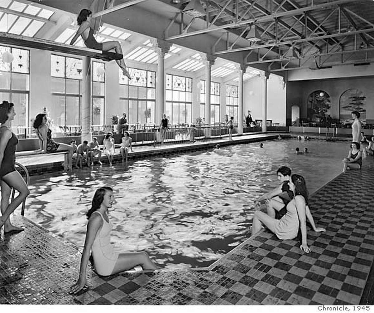 AIRMONT26.JPG The Fairmont Plunge...a public swimming pool converted in 1945 to the present Tonga Room at an estimated cost of $75,000. handout/ handout