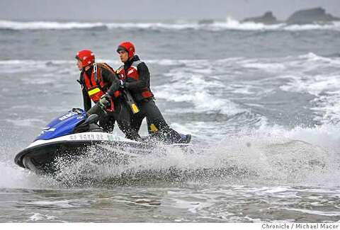 DESPERATE RACE FOR SURVIVAL / RIDING FOR THEIR LIVES: Two water