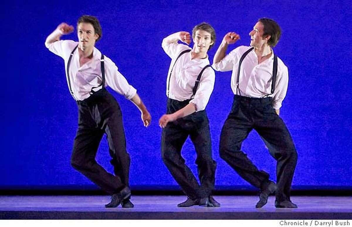 sfballet_0005_db.JPG From left, Rory Hohenstein, Garrett Anderson, and James Sofranko, dance In