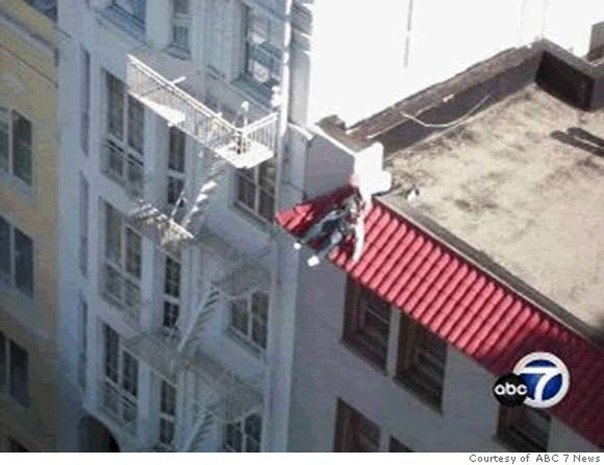 torrico2 Video clips showing San Francisco Firefighter Lt. Victor Wyrsch, (right) and his attempt to rescue 26 year old Nick Torrico from the ledge of a rooftop building at 900 Powell St. on Oct. 12, 2006. Photo Courtesy: ABC 7 News Ran on: 10-25-2006 At a family home in Bothell, Wash., Nick Torricos mother Bonnie (left to right) and two of his sisters, Cecie Kostanich and Gina Torrico, react after having watched a videotape that shows the failed rescue attempt. The video was shot by a visiting businessman from the nearby Fairmont Hotel. Ran on: 10-25-2006 At a family home in Bothell, Wash., (left to right) Nick Torricos mother Bonnie and two of his sisters, Cecie Kostanich and Gina Torrico, react after watching a videotape that shows the failed rescue attempt. The video was shot from the nearby Fairmont Hotel by a visiting businessman. Ran on: 10-25-2006