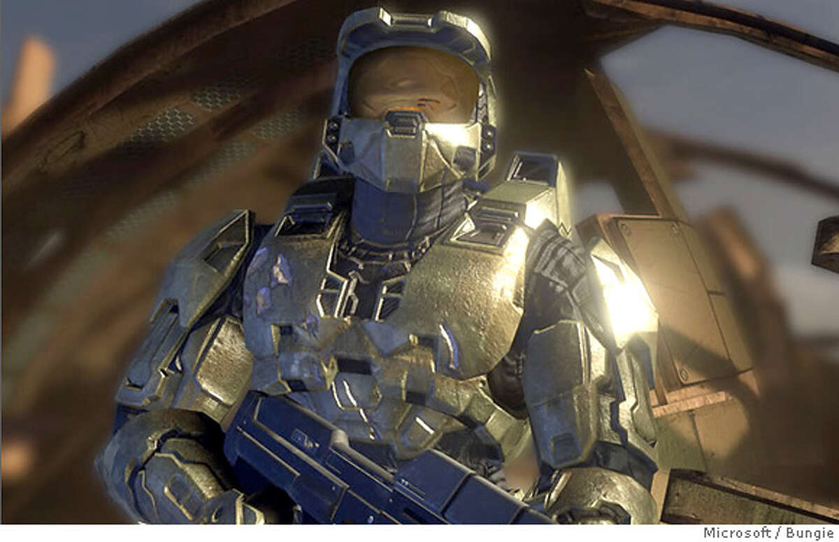 Screen shot from Microsoft's Halo 3, a much anticipated video game for the xbox 360 that is due out in late 2007. Ran on: 01-30-2007 Halo 3 is a 2007 release gamers cant wait to get their hands on.
