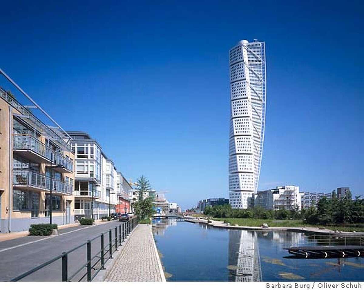 Office Apartment building Architect: Santiago Calatrava Turning Torso (Malmo, Sweden) Photo credit: www.palladium.de , Barbara Burg/Oliver Schuh place30xx
