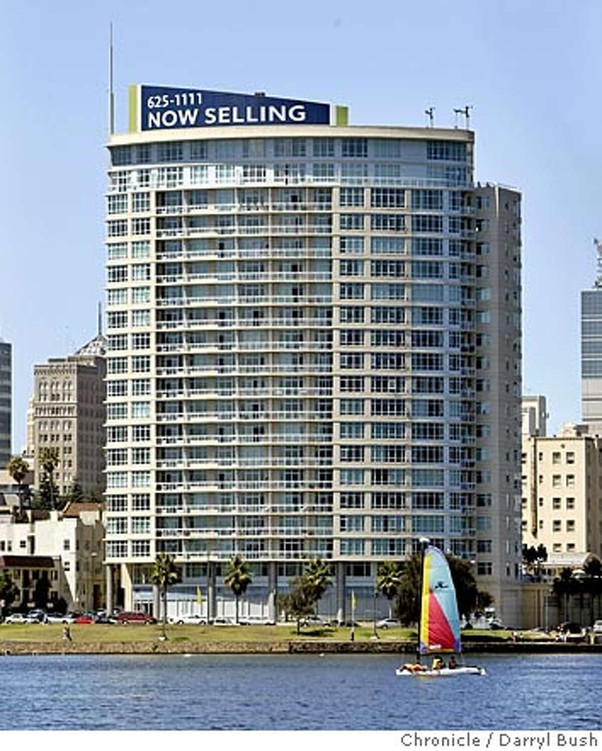 condos29_025_db.jpg The Essex on Lake Merritt, a high rise condominium, as seen from across Lake Merritt. 8/25/04 in Oakland Darryl Bush / The Chronicle Ran on: 08-29-2004 Prices have tripled in seven years at the Park Bellevue, left. The Essex, above, went condo this month. Ran on: 08-29-2004 Ran on: 08-29-2004 Ran on: 08-29-2004 MANDATORY CREDIT FOR PHOTOG AND SF CHRONICLE/ -MAGS OUT