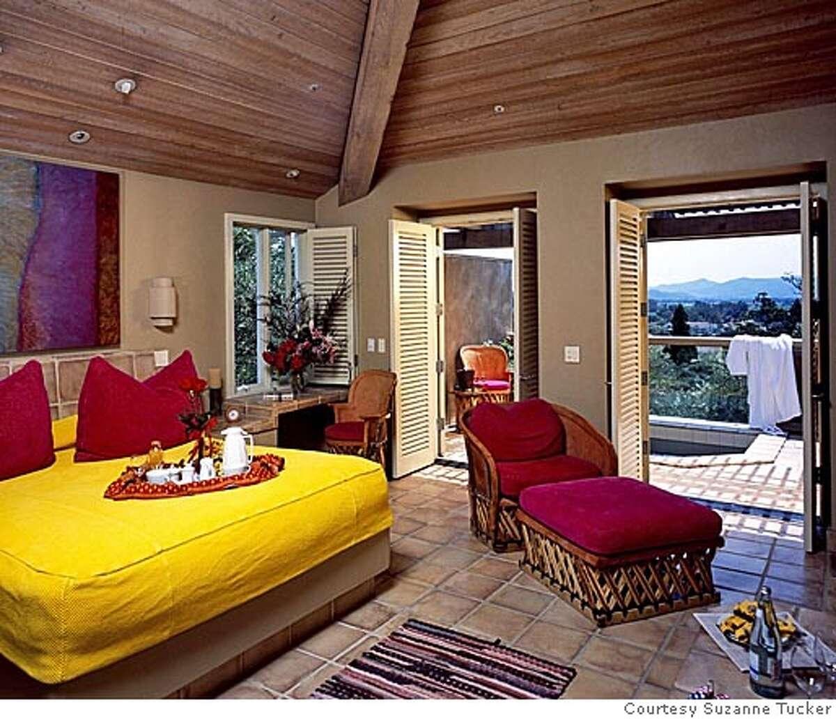 Auberge du Soleil guest cottage, before Courtesy Suzanne Tucker