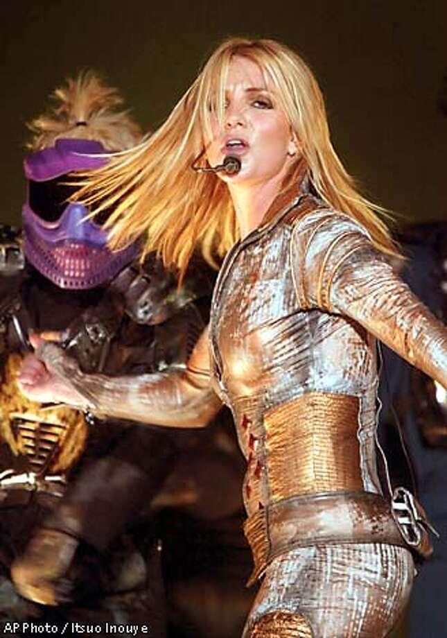 Britney Spears. Associated Press photo by Itsuo Inouye