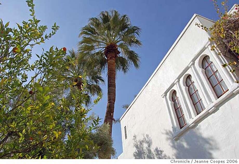 Travel palm springs moorish architecture and the foliage of a desert oasis inspires korakia