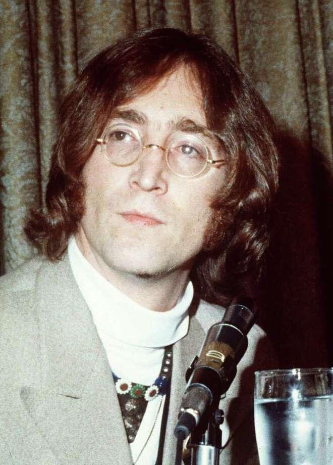 Musician John Lennon  / AP