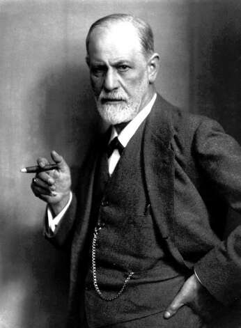 "ADV. FOR MON. AMS, NOV. 1--FILE--Sigmund Freud, the father of psychoanalysis, holds a cigar in this undated file photo. Freud was willing to concede that sometimes, a cigar is just a cigar. But on the larger issue he was adamant -- a dream is never just a dream.  Freud's 'The Interpretation of Dreams' was published a century ago, on Nov. 4 1899. (AP Photo/File)  HOUCHRON CAPTION (11/09/1999):  Sigmund Freud's ""The Interpretation of Dreams"" was published 100 years ago.   HOUCHRON CAPTION  (11/26/2002):  The PBS documentary Young Dr. Freud looks at how Sigmund Freud (shown in a 1921 photo) might have to his conclusions on psychoanalysis.  HOUCHRON CAPTION (01/24/2004):  Freud. / CHRISTIE'S"