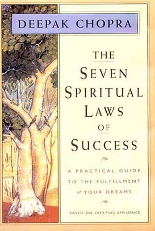 The Seven Spiritual Laws of Success by Deepak Chopra Photo: HO