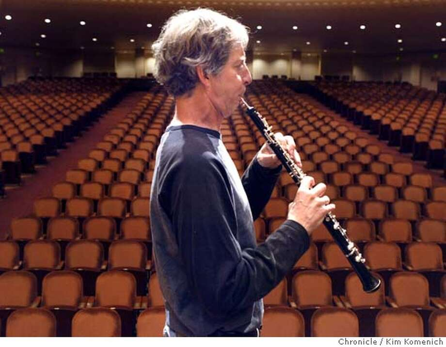 Longtime San Francisco Symphony oboist Bill Bennett returns after a brush with cancer and a one year absence.  (7/14/05)  San Francisco Chronicle Photo by Kim Komenich Photo: Kim Komenich