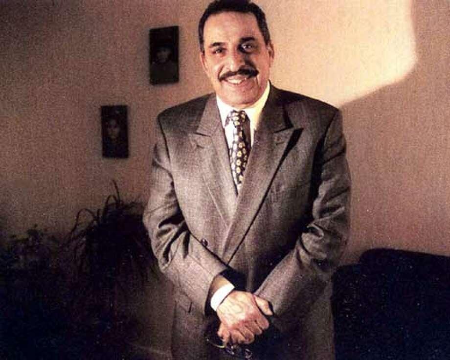 Najif Khazraji, former Iraqi army chief of staff.  Photos by Robin Shulman. special to the Chronicle.