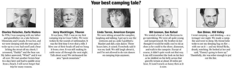 Your best camping tale?